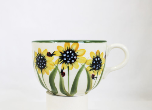 Sunflower Pattern ~ Jumbo Mug