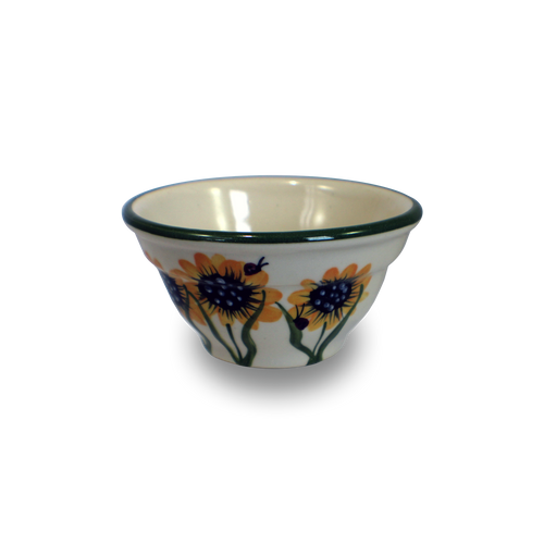 Mini One-Rib Bowl in Sunflower Pattern