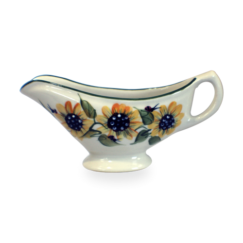 Gravy Boat in Sunflower Pattern