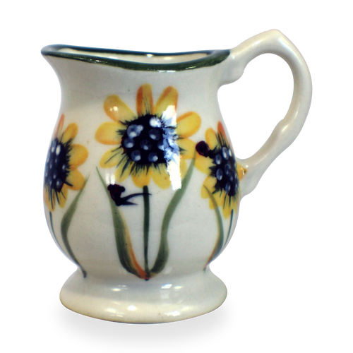Individual Creamer in Sunflower Pattern