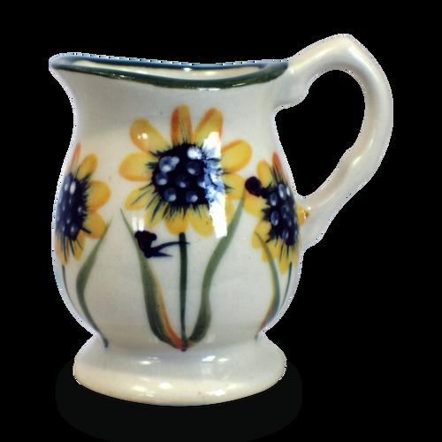 Individual Creamer in Sunflower Pattern