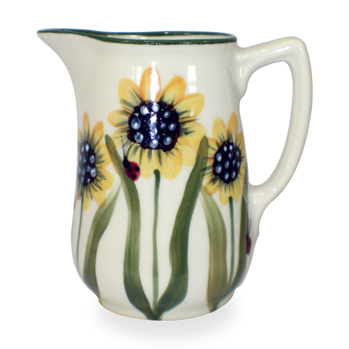 10 ounce Creamer in Sunflower Pattern