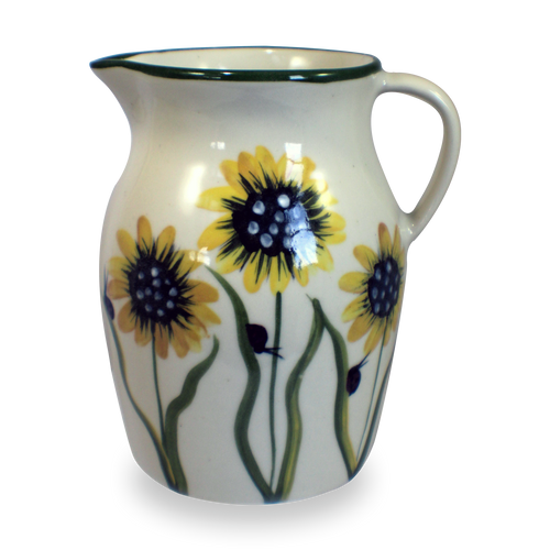 Half Gallon Pitcher in Sunflower Pattern