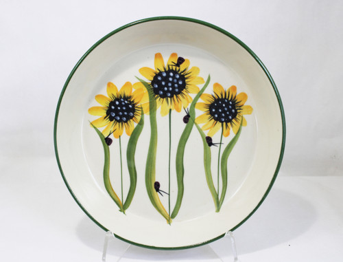 Sunflower Pattern ~ Pie Pan