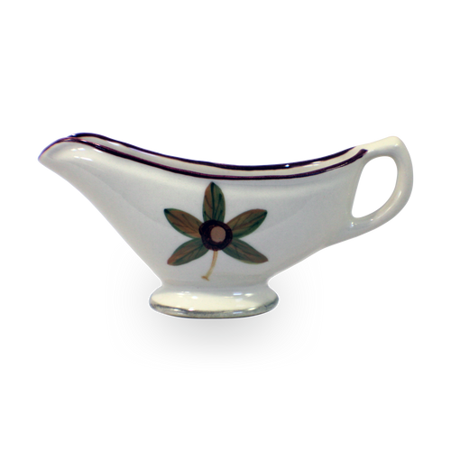 Gravy Boat in Our Classic Buckeye Pattern