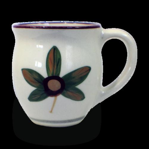 Latte Mug in Our Classic Buckeye Pattern