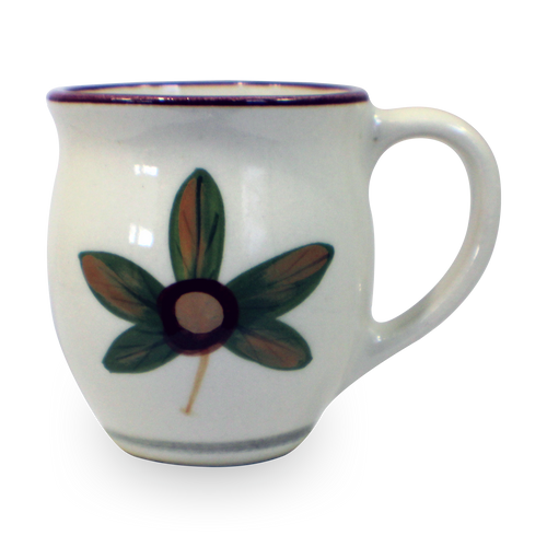 Latte Mug in Our Classic Buckeye Pattern