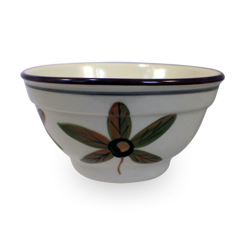 One-Rib Bowl in Our Classic Buckeye Pattern