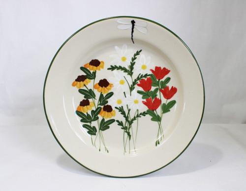 Summer Garden Pattern ~ Dinner Plate