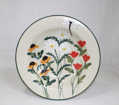 Summer Garden Pattern ~ Salad Bowl