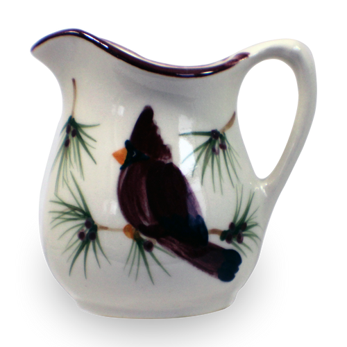 Fancy Pitcher in Our Cardinal Pattern [Front View]