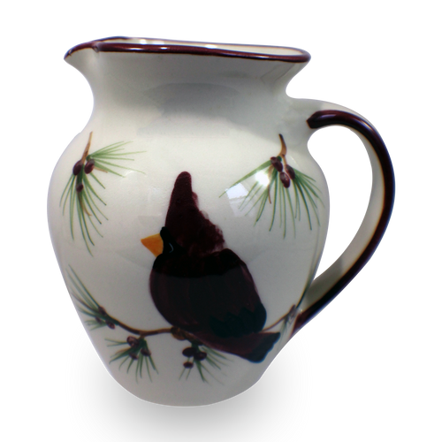 Half-Gallon Pitcher in Our Cardinal Pattern [Front View]