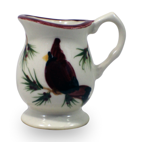 Individual Creamer in Our Cardinal Pattern [Front View]