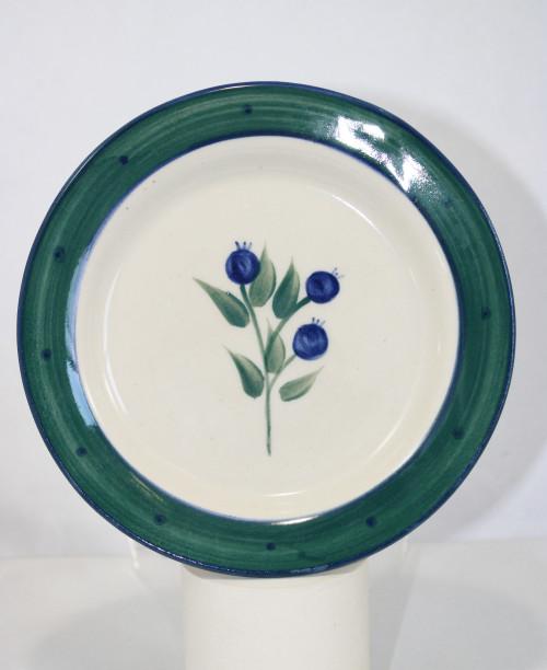 Wild Blueberry Pattern ~ Dessert Plate