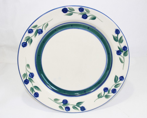 Wild Blueberry Pattern ~ Dinner Plate