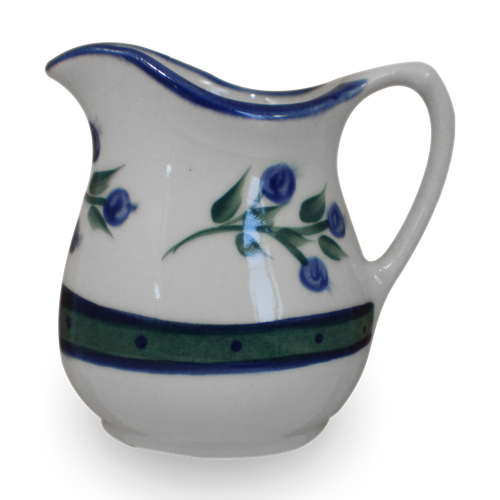 Fancy Pitcher in Our Wild Blueberry Pattern