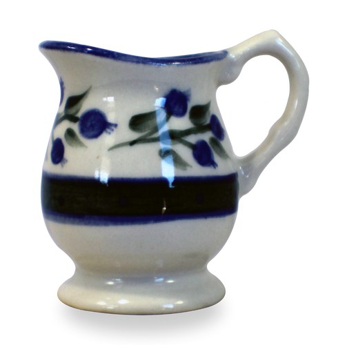 Individual Creamer in Our Wild Blueberry Pattern