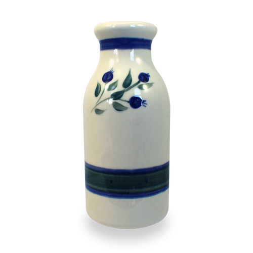 Milk Bottle in Our Wild Blueberry Pattern