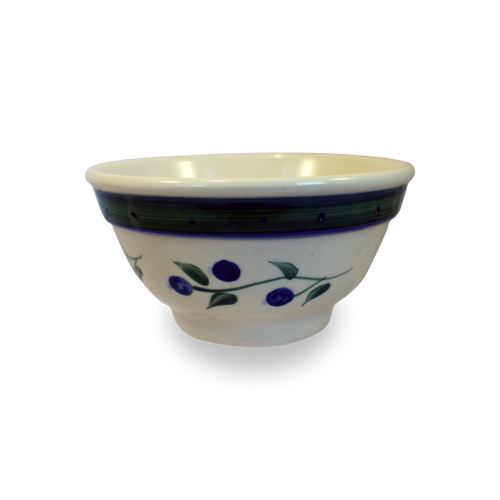 One-Rib Bowl in Our Wild Blueberry Pattern