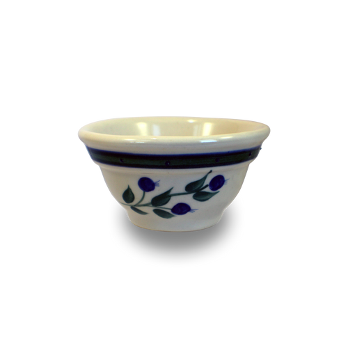 One-Rib Mini-Bowl in Our Wild Blueberry Pattern