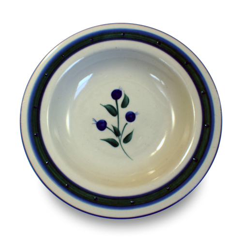 Salad Bowl in Our Wild Blueberry Pattern