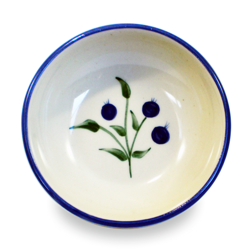 Soup & Cereal Bowl in Our Wild Blueberry Pattern
