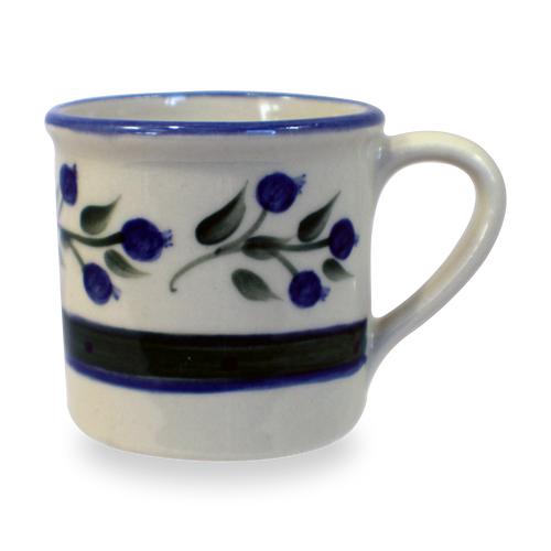 Traditional Mug in Our Wild Blueberry Pattern