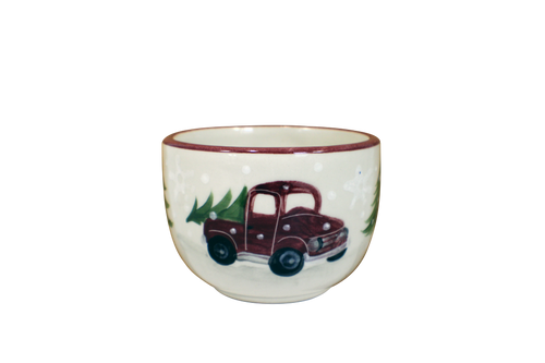 Red Truck Pattern ~ Jumbo Bowl