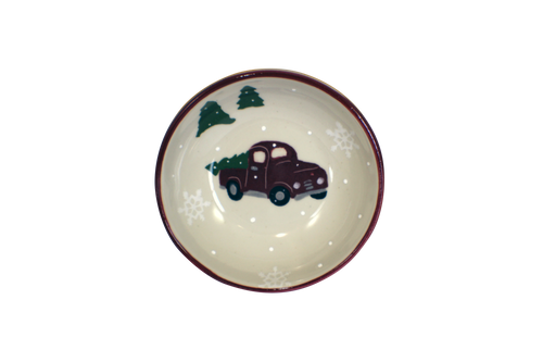Red Truck Pattern ~ Soup & Cereal Bowl