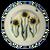 Dinner Plate in Sunflower Pattern