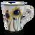 Tall Mug in Sunflower Patter