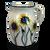 Half Gallon Pitcher in Sunflower Pattern