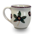 Latte Mug in Our Modern Buckeye Pattern