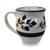 Latte Mug in Our Wild Blueberry Pattern