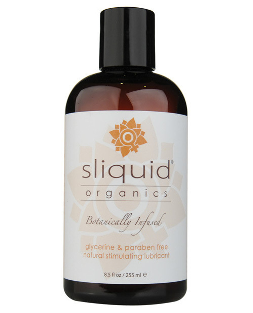 Sliquid Organics Sensation Warming Water Based Lubricant 8.5 oz