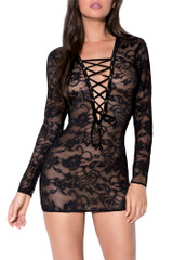Just a Pretty Lace Chemise