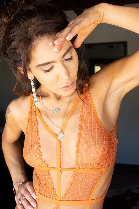 Heartstone Necklace