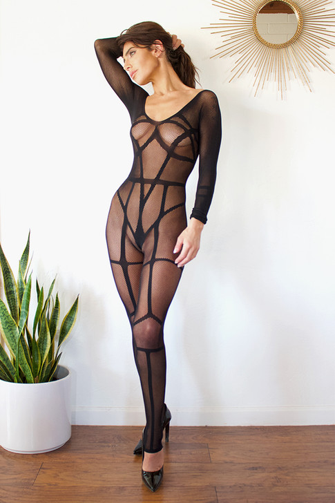 Interconnections Full Bodysuit