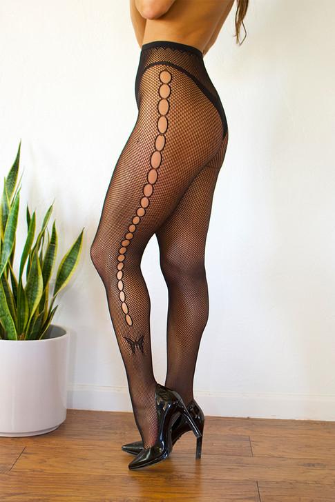 Monarch Mesh Stockings