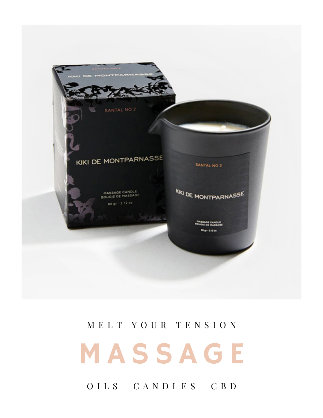 massage, massage oil, oil, candle, cbd, bath, salts,