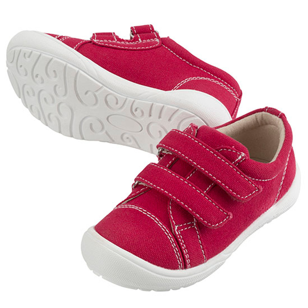 Hardy Canvas Boys Shoe - Red