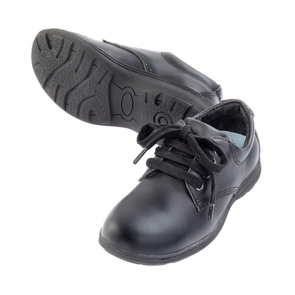 JACK Leather Lace Up Shoe - Black