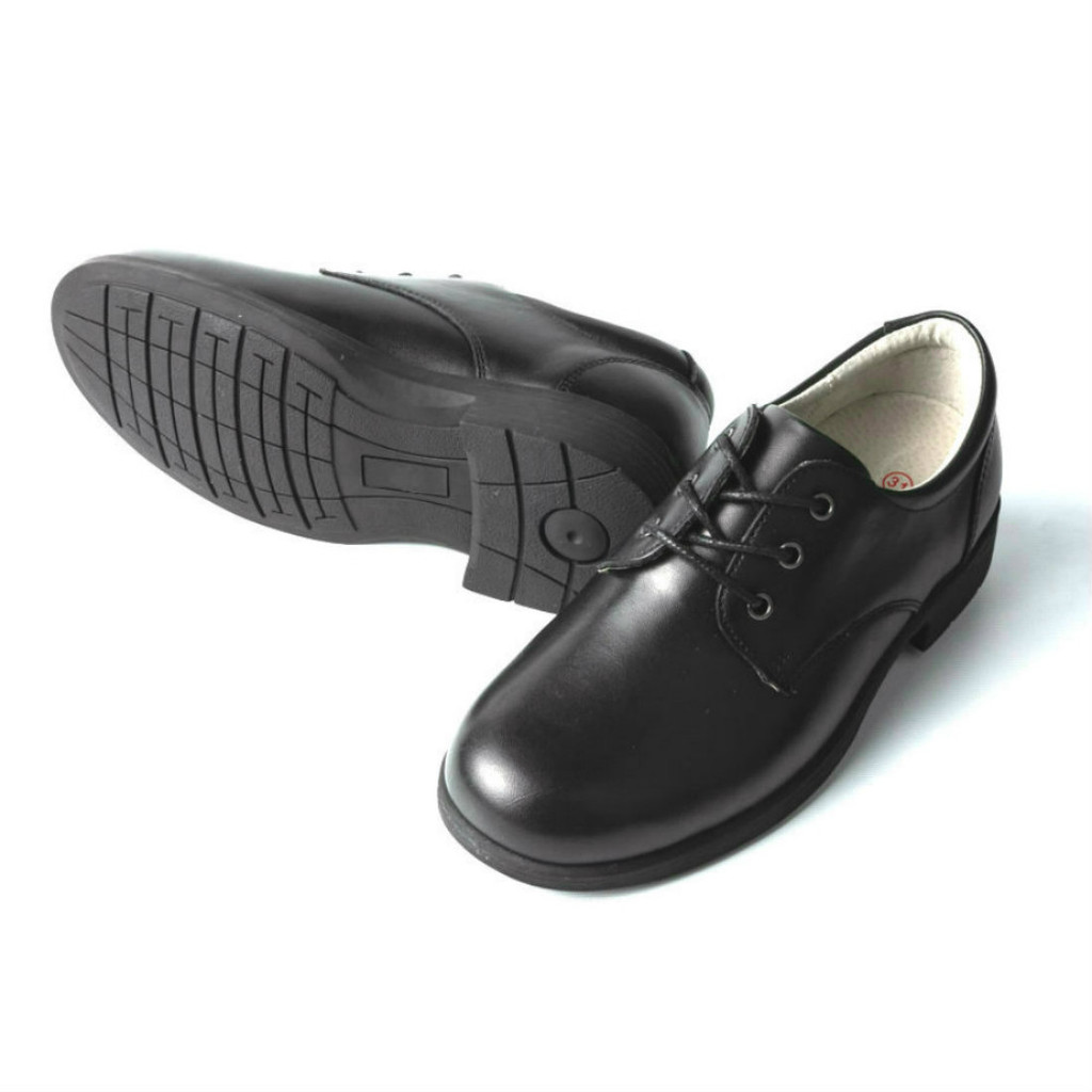 BUDDY - Unisex Leather Lace up School Shoe