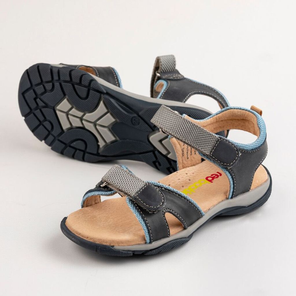 Ben Boys Leather Open Sandal