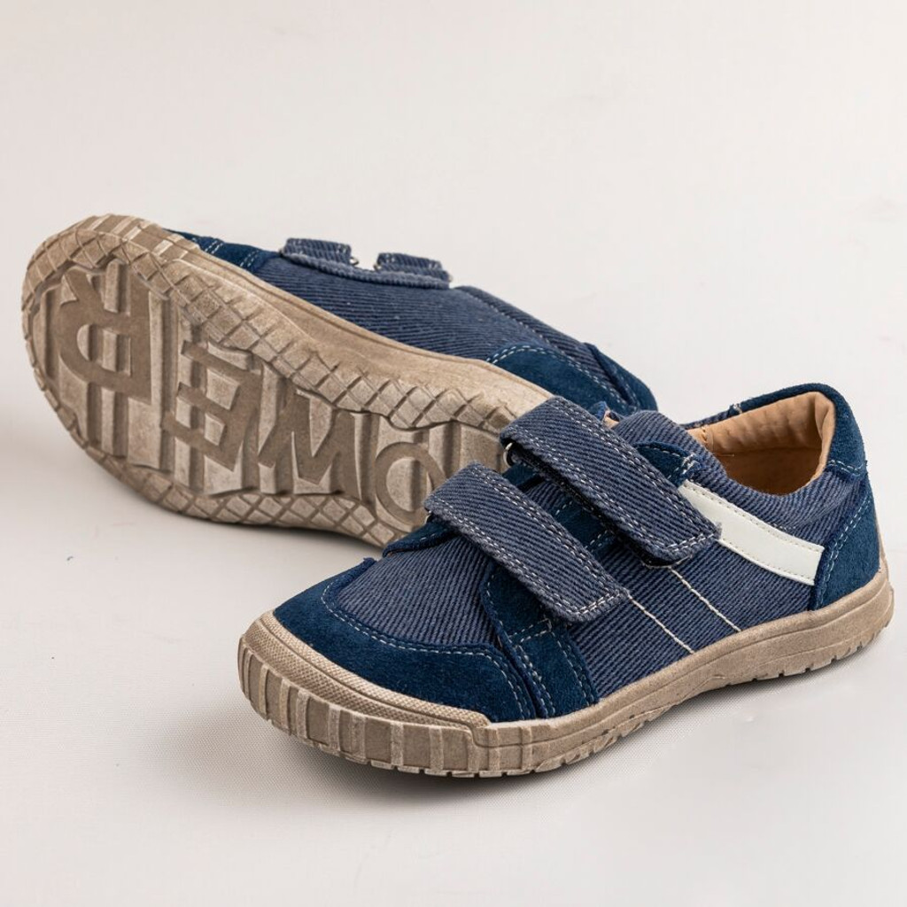 Ashley Boys Canvas  Shoe -  Navy