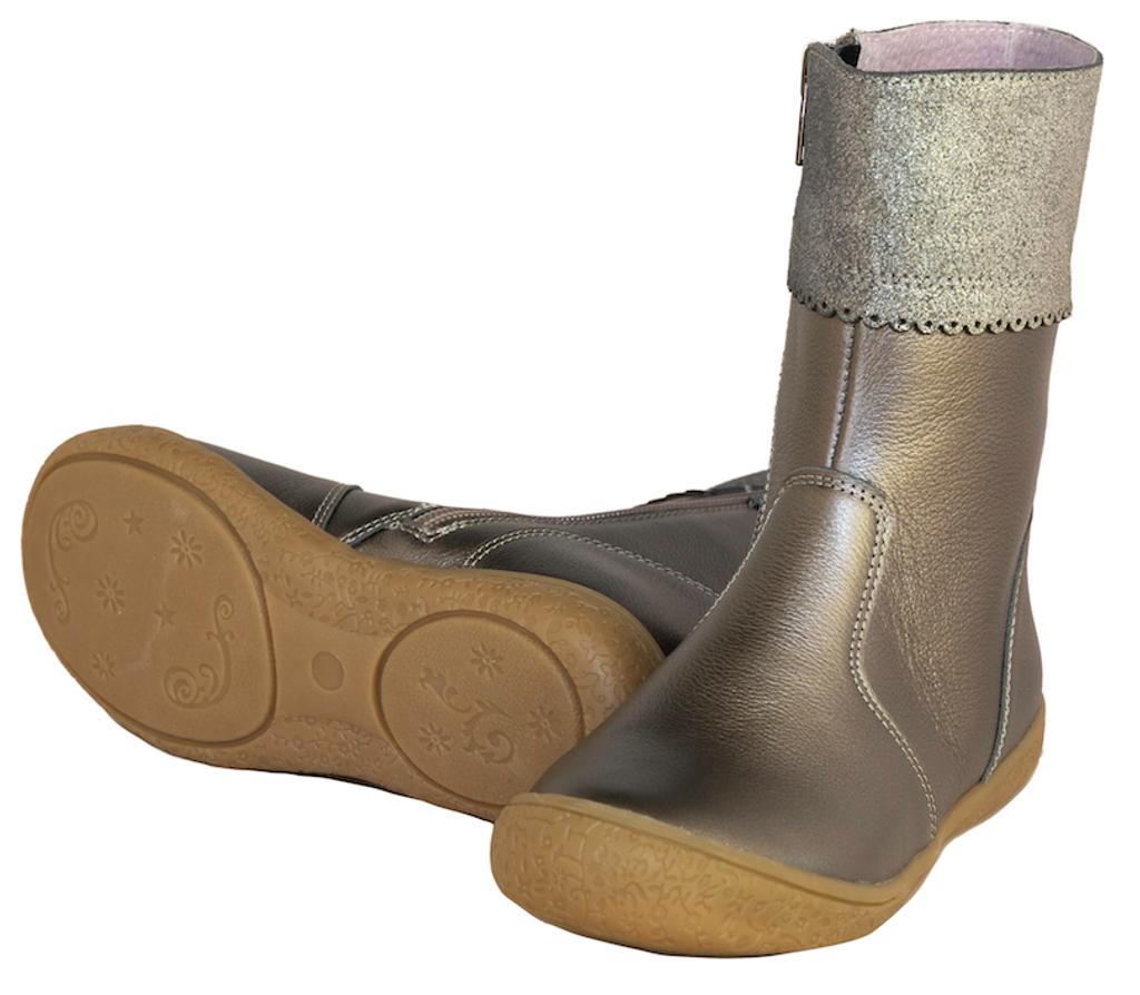 JULIA - Girls Short Leather Boot
