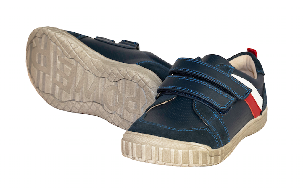 Marco - Boys Leather shoe - Navy