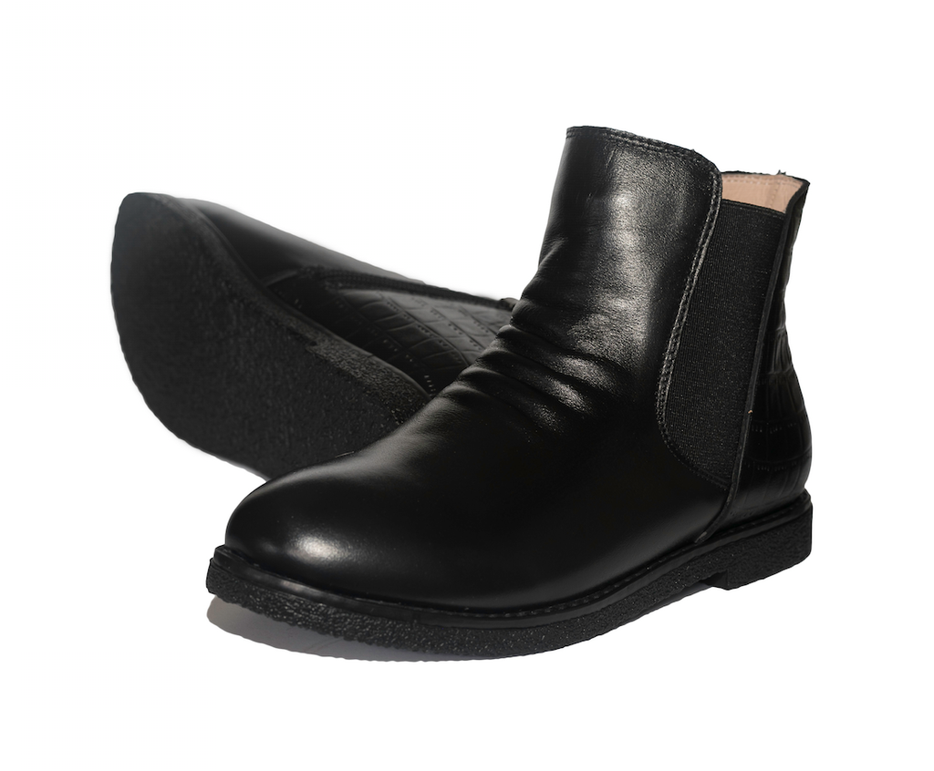 INDIA Girls Ankle Boot - Black