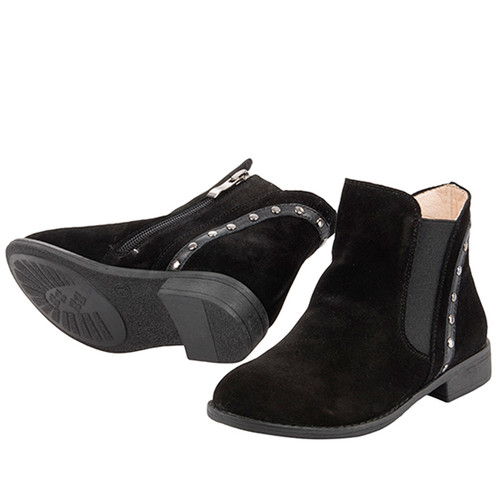Zoe Girls Suede  Leather Boot