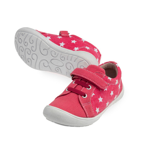 Drift Girls Canvas Casual Shoe - Fuschia